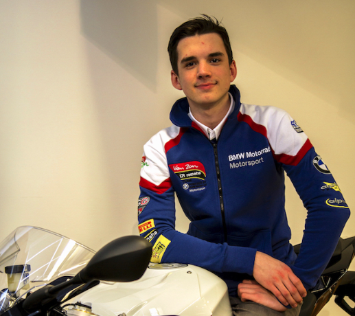 EN – Van Zon-Remeha-BMW teams up with 16-year old German Arnaud Friedrich