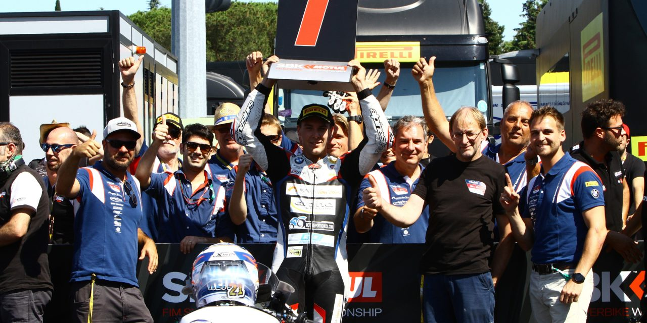 (EN) STK1000 | Reiterberger expands championship lead in Misano.
