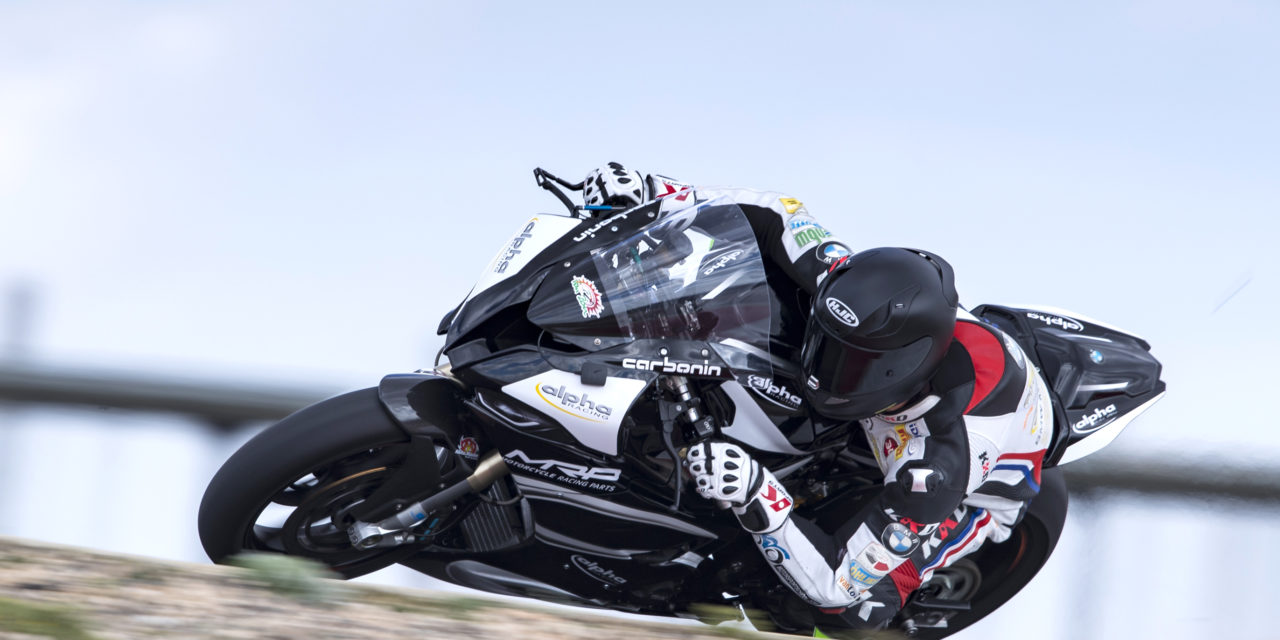 EN: First roll out on the brand new Double-R for alpha Racing – Van Zon – BMW team