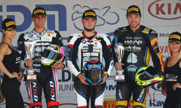Successful home race for the alpha Racing-Van Zon-BMW Team at circuit Zolder