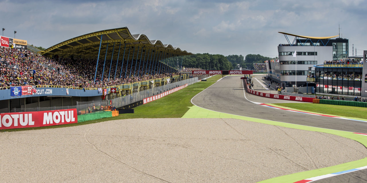 (EN) The motorcycle racing cathedral awaits the IDM